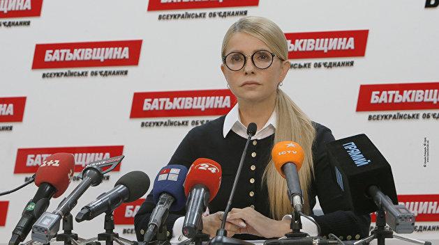 """Тимошенко обещает вернуть украинцам """"украденную Порошенко"""" газотранспортную систему"""