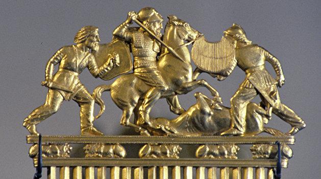Аксенов: Нидерланды понимают, что скифское золото потеряется на Украине