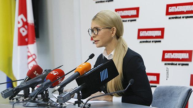 Ударить по Порошенко, привлечь спонсоров. Что задумала Тимошенко