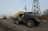 ЛНР: Украина стягивает в Донбасс «Грады» и иностранных наемников
