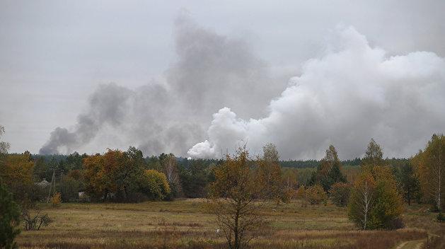 После взрыва на арсенале в Балаклее украинские военные говорят о трех погибших