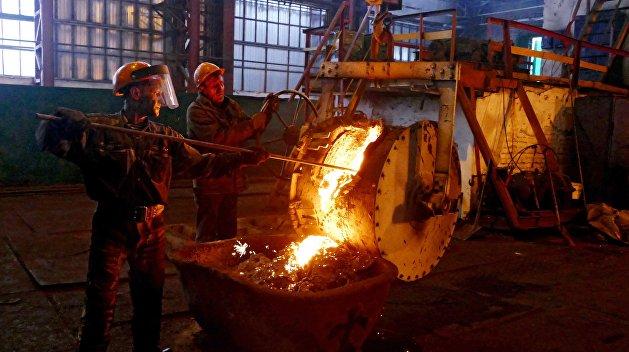 На Украине ускорилось падение промышленного производства