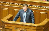 Депутаты Верховной Рады отказались говорить на украинском языке