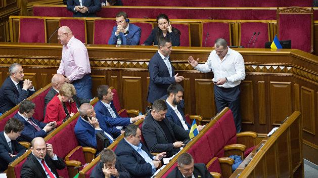 «Такое желание будет» — Ищенко о роспуске украинского парламента