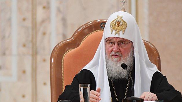 Патриарх Кирилл назвал вмешательство Порошенко в дела церкви «цивилизационной катастрофой»