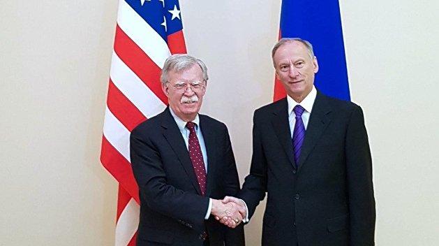 В Совбезе РФ подвели итоги встречи между Патрушевым и Болтоном