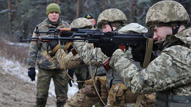 Иностранцы получили право служить в украинской армии