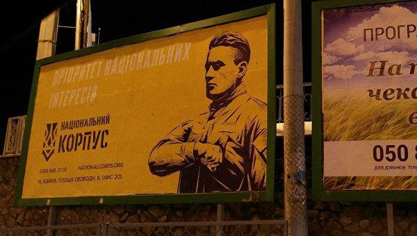 Заглушка для фонтана. На украинских выборах-2019 противостоять власти будут нацисты