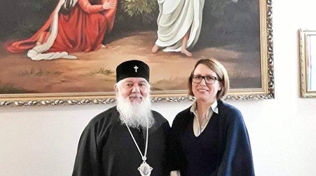 Посол Британии на Украине обсудила томос с главой УАПЦ Макарием