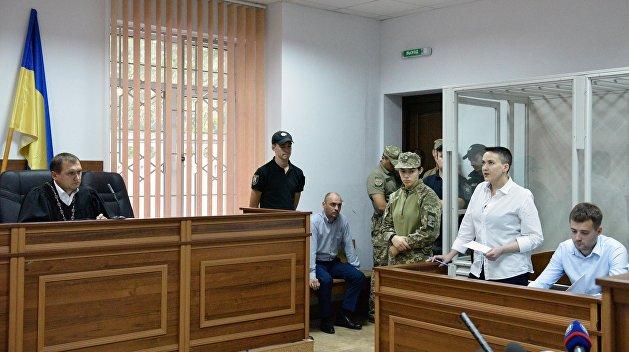Надежда Савченко будет сидеть до конца года минимум