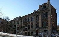 VGORODE.UA: В Днепре ушел под землю легендарный дом с привидениями на улице Сечевых Стрельцов