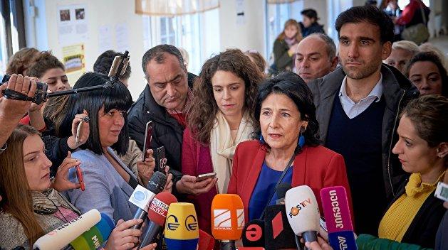 Зурабишвили победила на выборах президента Грузии после подсчета 100% голосов