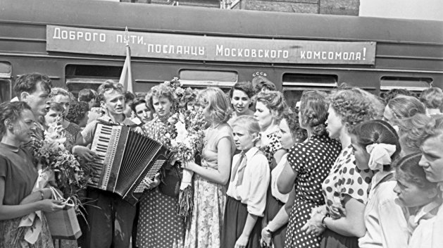Сто лет комсомолу: праздник борьбы и ностальгии