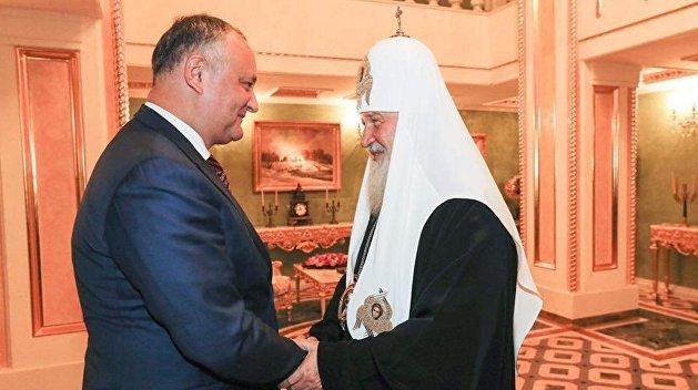 Додон: Православная церковь Молдавии была, остается сейчас и будет частью РПЦ