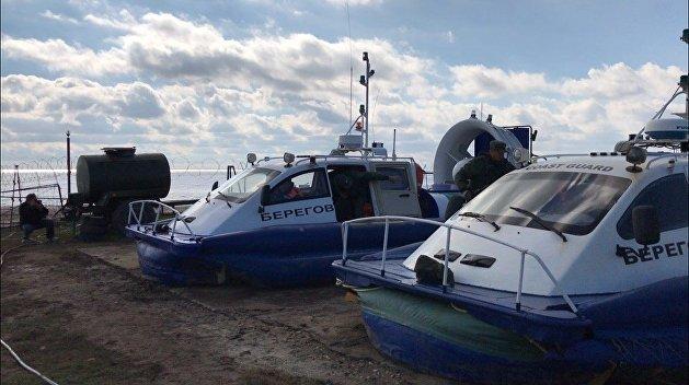 Защитники на воздушной подушке. Как выглядят охранные катера Крыма