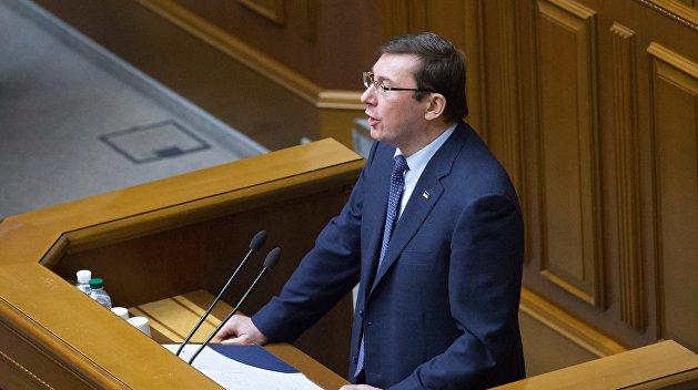 Луценко не стали преследовать за незаконную агитацию в пользу Порошенко