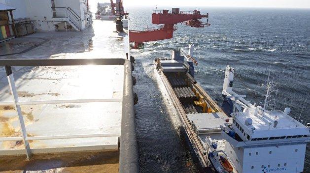Финляндия начала укладку газопровода «Северный поток — 2»