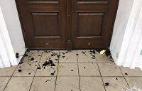 «Коктейлем Молотова» по Андреевской церкви: Киев обвиняет Москву