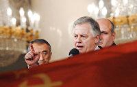 Краткий курс угасания Компартии Украины. Лидер КПУ Симоненко перед последним выбором