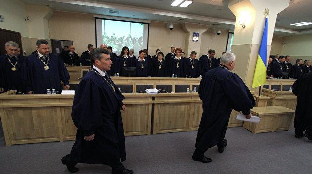Зачистка в рядах служителей Фемиды: На Украине повально увольняют судей