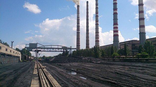 Криворожская ТЭС остановлена из-за дефицита угля
