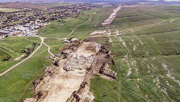 Античная усадьба в Крыму. Строительство как стимул для науки