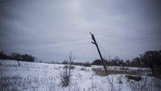 Сотни городов Украины и тысячи жителей ДНР остались без света из-за непогоды