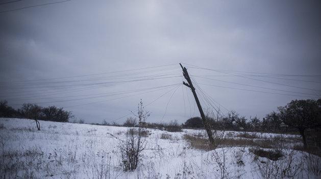 Буйство стихии. На Украине почти 100 населенных пунктов осталось без света