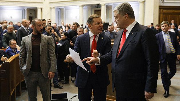 Политолог: Порошенко превратился в героя одесского анекдота