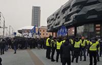 Военное положение: В Киеве начались погромы российского бизнеса