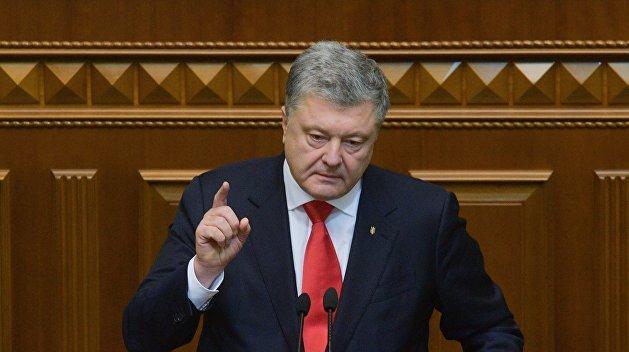 Олейник: Порошенко еще может отменить выборы