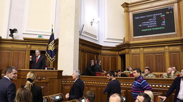 Алексей Попов о военном положении: Порошенко позволили сохранить лицо