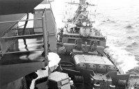 Да дави его, дави! Как советские моряки таранили американцев у побережья Крыма