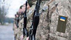 Украинский военный едва не сгорел под Новый год в палаточном городке