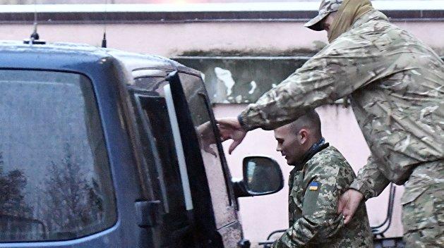 Задержанные в Керченском проливе моряки переведены в СИЗО Москвы