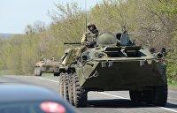 Военное положение: В Одесской области блокпосты усилили бронетехникой