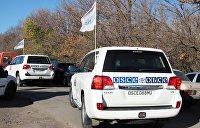 Представители ОБСЕ едва не попали под обстрел ВСУ в Донбассе