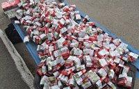 Литовец пытался вывезти из Украины автомобиль, набитый контрабандными сигаретами