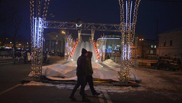 Киев предновогодний: теплый снег под холодной луной. ФОТОРЕПОРТАЖ