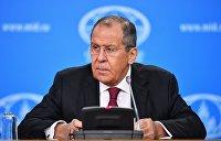 Лавров: Надеюсь, что Украина отзовет антироссийские решения времен Порошенко