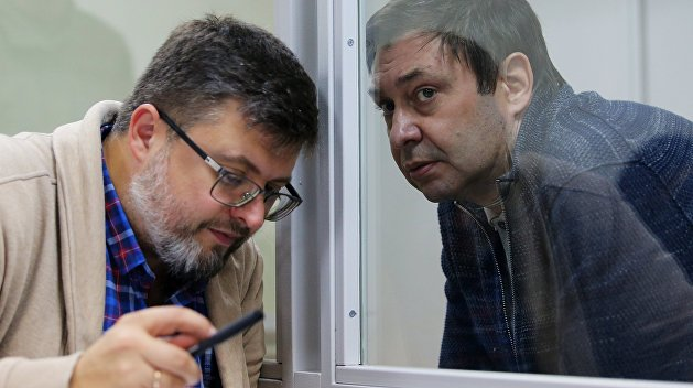 Адвокат: Вышинскому скоро изменят меру пресечения