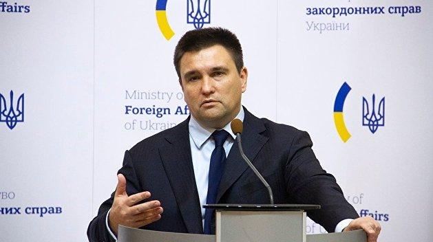 Размещение ракет: Климкин рассказал, как Украина отреагирует на выход США из ДРСМД