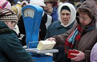 Украинцы вынуждены тратить на еду более 40% своих доходов — американское исследование