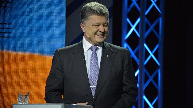 Порошенко рассказал, чем грозит для кандидатов отказ от теледебатов