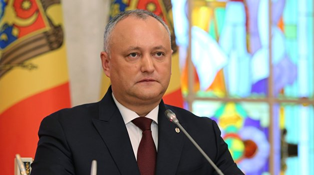 Додон рассказал, когда миротворцы уйдут из Приднестровья