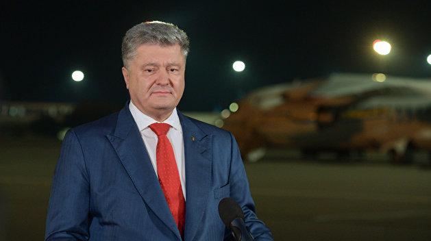 Эксперт пояснил, почему Порошенко заговорил про «украинскую агрессию»