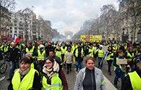 Олеся Орленко: «Жёлтые жилеты» во Франции - не украинский Майдан, ничего общего