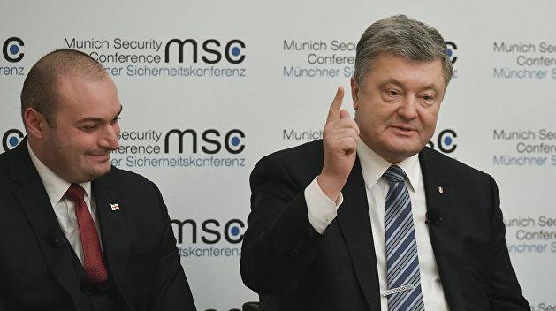 Порошенко вновь пожаловался Западу на безответные звонки Путину