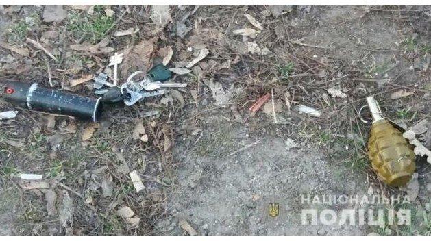 В Херсоне возле супермаркета горожане нашли гранату