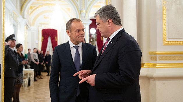Циничная дипломатия по-польски: ТУСКлый отблеск пожарищ на Майдане